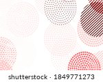 Light Pink  Red Vector Pattern...