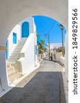 Traditional Alley With Narrow...
