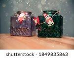Christmas Decorations. Glass...