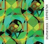 seamless texture brown  green ... | Shutterstock .eps vector #184983764