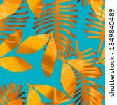 natural decorative seamless...   Shutterstock . vector #1849840489