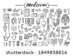 vector cartoon set on the theme ...   Shutterstock .eps vector #1849858816