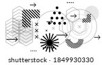 abstract futuristic background...   Shutterstock .eps vector #1849930330