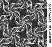 vector geometric seamless... | Shutterstock .eps vector #1849930540