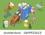 3d isometric flat vector... | Shutterstock .eps vector #1849932613