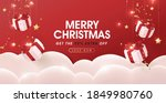 merry christmas sale banner... | Shutterstock .eps vector #1849980760