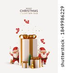christmas and new year... | Shutterstock .eps vector #1849986229