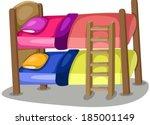 illustration of isolated... | Shutterstock .eps vector #185001149