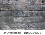 Close Up Of Old Dirty Brick...