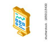 business presentation isometric ...   Shutterstock .eps vector #1850115430