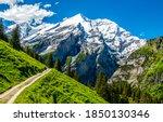 Mountain Path To Mountain Peak...