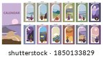 calendar minimalistic window... | Shutterstock .eps vector #1850133829
