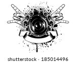 vector illustration gesture by... | Shutterstock .eps vector #185014496