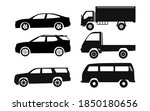 set glyph icons of car isolated ... | Shutterstock .eps vector #1850180656