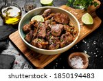 Fried Chicken Liver With Onions ...