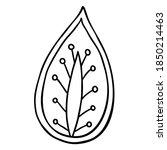 floral design element. mehendi...   Shutterstock .eps vector #1850214463
