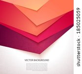 bright  colorful stripe. vector ... | Shutterstock .eps vector #185025059