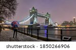London In Winter Time With A...