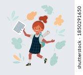 cartoon vector illustration of... | Shutterstock .eps vector #1850291650