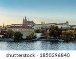 Scenic Panorama Of Prague...