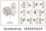 2021  alendar design. 2021... | Shutterstock .eps vector #1850345629