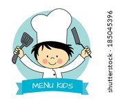 Illustration Of Little Chef Boy ...