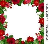 vector christmas background... | Shutterstock .eps vector #1850457046