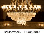 Large Chandelier In  Theater