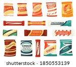 snack product set for vending... | Shutterstock .eps vector #1850553139