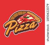 slice of pizza logo for... | Shutterstock .eps vector #1850622079
