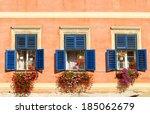 Three Colorful Windows