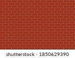 red brick wall  vector... | Shutterstock .eps vector #1850629390