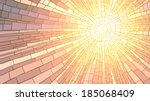 mosaic vector illustration of... | Shutterstock .eps vector #185068409