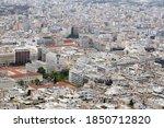 View Of Athens. City Centre...