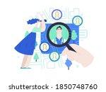 find a doctor  medical... | Shutterstock .eps vector #1850748760