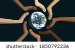 detailed flat vector... | Shutterstock .eps vector #1850792236