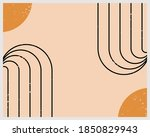 abstract contemporary aesthetic ... | Shutterstock .eps vector #1850829943