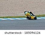 jerez de la frontera  spain  ... | Shutterstock . vector #185096126