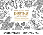 Christmas Sketch Illustration....