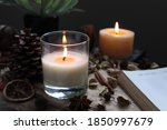 Nice Aromatic Scented Candle...
