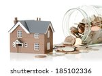 concept for cost of living or... | Shutterstock . vector #185102336