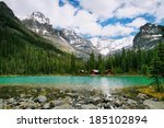 Постер, плакат: Lake Ohara Yoho national