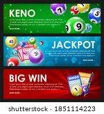 lottery raffle  keno  bingo ... | Shutterstock .eps vector #1851114223