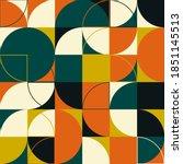 seamless geometric pattern...   Shutterstock .eps vector #1851145513