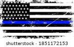 vintage american police support ... | Shutterstock .eps vector #1851172153