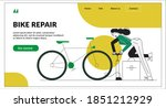 bike repair landing page...