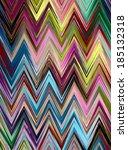 zig zag abstract | Shutterstock . vector #185132318