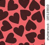vector background   seamless... | Shutterstock .eps vector #185135810