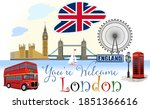 london symbols. you are welcome | Shutterstock . vector #1851366616