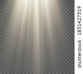 vector transparent sunlight... | Shutterstock .eps vector #1851427519